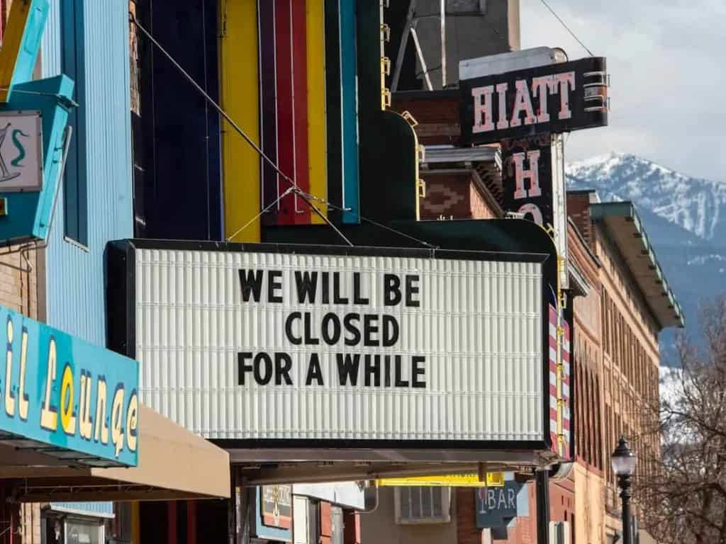 businesses close down due to covid19